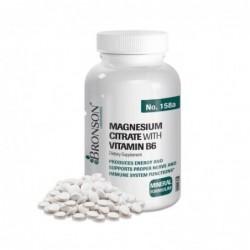 Magneziu + Vitamina B6 100 tbl Bronson