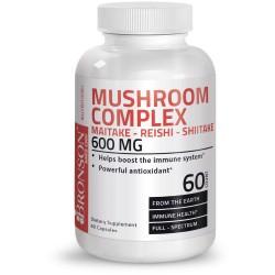 Ciuperci medicinale: Maitake, Shiitake, Reishi