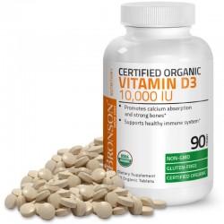 Vitamina D3 10000 UI Organica