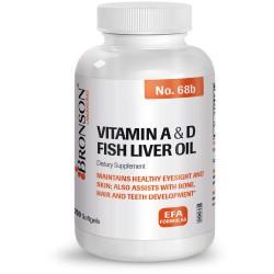 Vitamina A + Vitamina D 250 cps Bronson