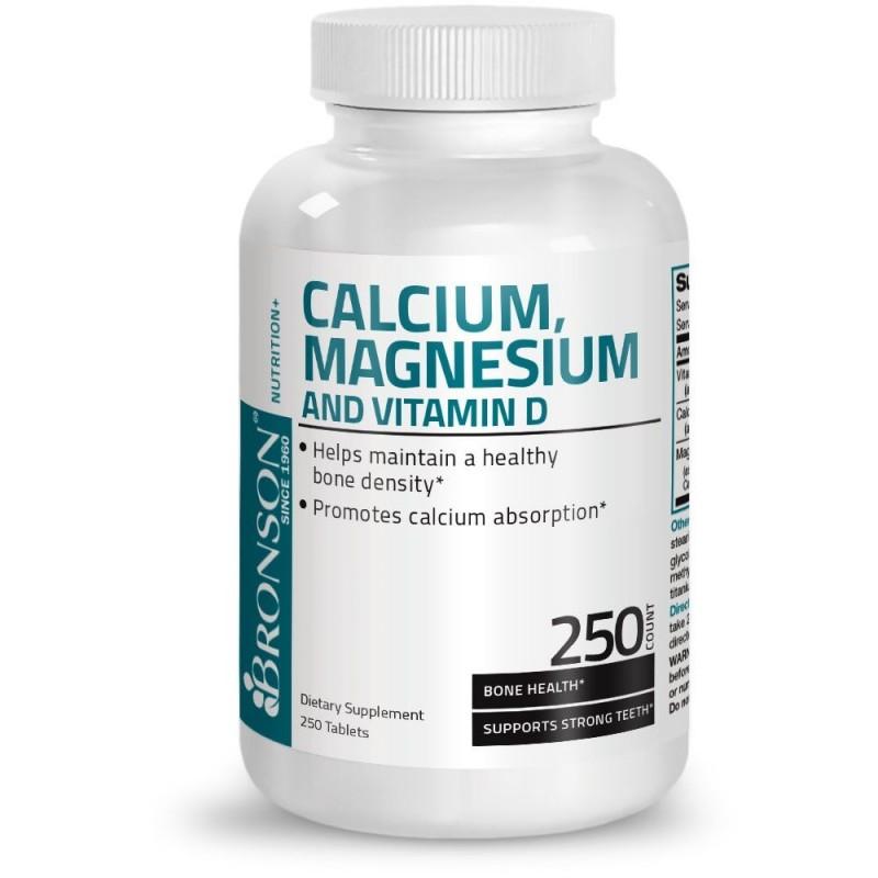 Calciu + Magneziu + Vitamina D