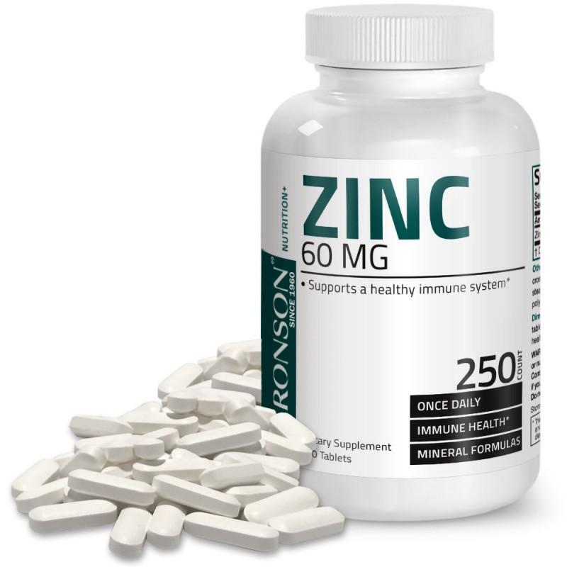 Zinc gluconat 60 mg