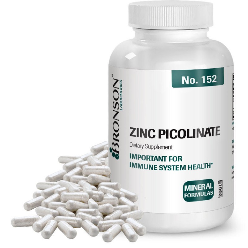 Zinc picolinat 30 mg