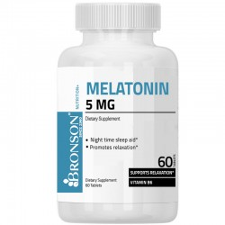 Melatonina 5 mg 60 tbl Bronson